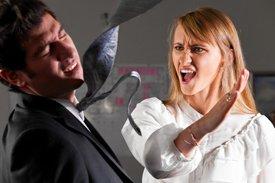 Что делать если жена дерется