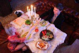 , как сделать романтический ужин
